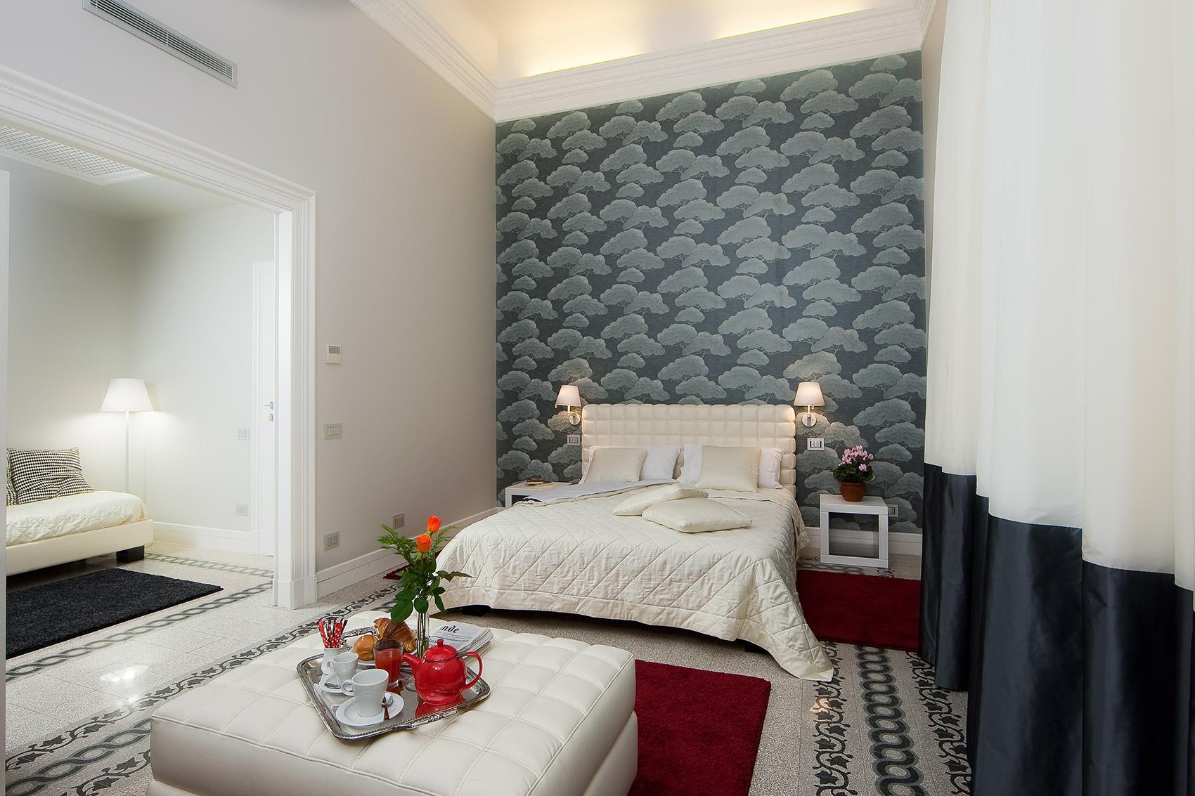 Arredamento Casa Roma villa urbani | bed and breakfast, music and art
